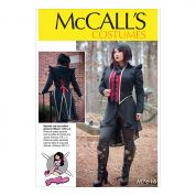 McCalls Ladies Sewing Pattern 7616 Lined Costume Waistcoat & Jacket