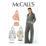 McCalls Sewing Pattern 7634
