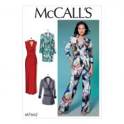 McCalls Sewing Pattern 7662