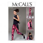 McCalls Sewing Pattern 7663