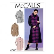 McCalls Sewing Pattern 7667