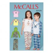 McCalls Sewing Pattern 7678