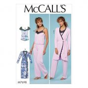 McCalls Sewing Pattern 7698