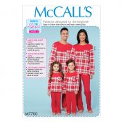 McCalls Sewing Pattern 7700