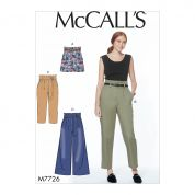McCalls Sewing Pattern 7726