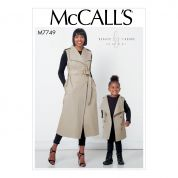 McCalls Sewing Pattern 7749