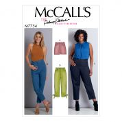 McCalls Sewing Pattern 7754