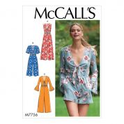 McCalls Sewing Pattern 7756