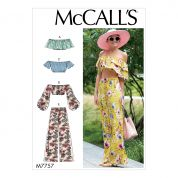 McCalls Cosplay Sewing Pattern 7757