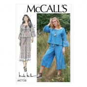 McCalls Cosplay Sewing Pattern 7758