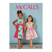 McCalls Sewing Pattern 7770