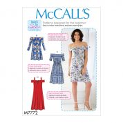 McCalls Sewing Pattern 7772