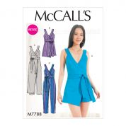McCalls Sewing Pattern 7788