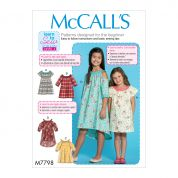McCalls Sewing Pattern 7798