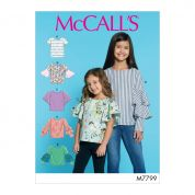 McCalls Sewing Pattern 7799