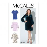 McCalls Sewing Pattern 7800