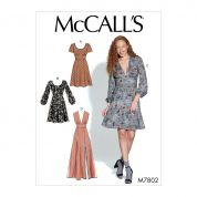 McCalls Sewing Pattern 7802