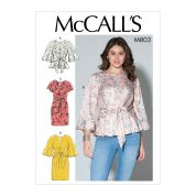 McCalls Sewing Pattern 7803