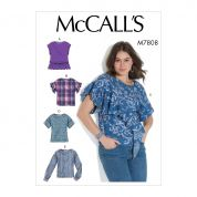 McCalls Sewing Pattern 7808