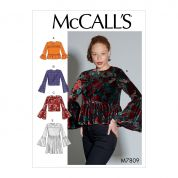 McCalls Sewing Pattern 7809