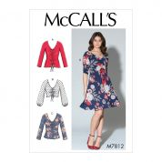 McCalls Sewing Pattern 7812