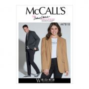 McCalls Sewing Pattern 7818