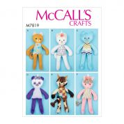 McCalls Sewing Pattern 7819
