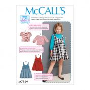 McCalls Sewing Pattern 7829