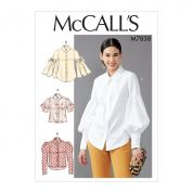 McCalls Sewing Pattern 7838