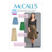 McCalls Sewing Pattern 7844