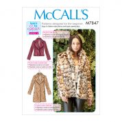 McCalls Sewing Pattern 7847