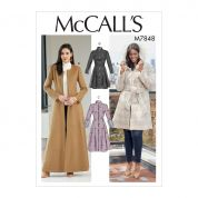 McCalls Sewing Pattern 7848