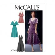 McCalls Sewing Pattern 7864