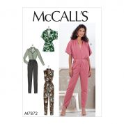 McCalls Sewing Pattern 7872