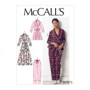 McCalls Sewing Pattern 7875