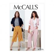 McCalls Sewing Pattern 7876