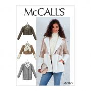 McCalls Sewing Pattern 7877