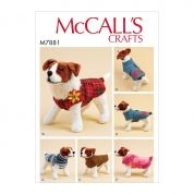 McCalls Sewing Pattern 7881