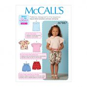 McCalls Sewing Pattern 7887