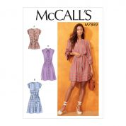 McCalls Cosplay Sewing Pattern 7889
