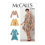 McCalls Cosplay Sewing Pattern 7892