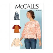 McCalls Cosplay Sewing Pattern 7899