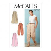 McCalls Cosplay Sewing Pattern 7907