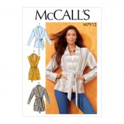 McCalls Sewing Pattern 7912