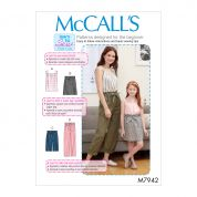 McCalls Sewing Pattern 7942