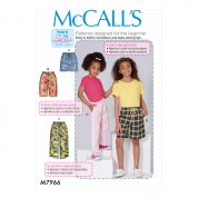 McCalls Sewing Pattern 7966
