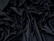 Textured Knit Fabric  Black