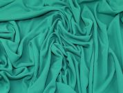 Crepe Jersey Fabric  Bright Green