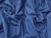 Cotton Jersey Fabric  Blue