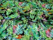 Silky ITY Knit Fabric  Multicoloured